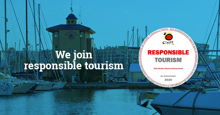 We join responsible tourism